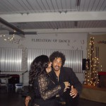 Shelley and Shaka dancing at company party