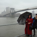 Shelley and Susana beginning road trip in New York
